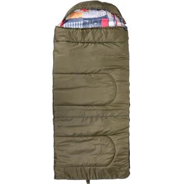 Спальный мешок OLYMPUS Wide 400 (холлофайбер)