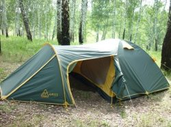 Трехместная палатка GROT v.2 TRAMP