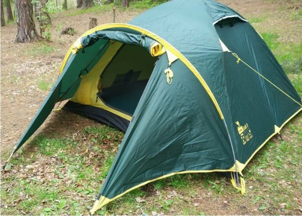 Двухместная палатка LAIR 2 v.2 TRAMP