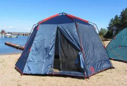 шатер MOSQUITO BLUE SOL