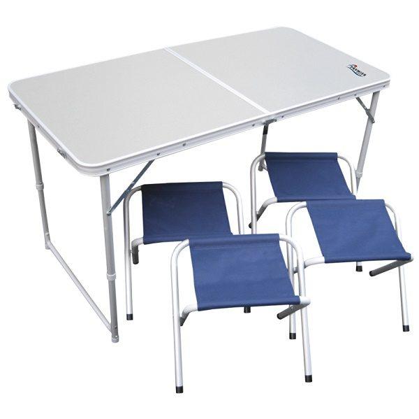 Набор складной мебели PREMIER (стол+4 табурета)