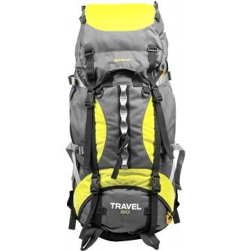 Рюкзак экспедиционный TRAVEL 80 GREY NISUS