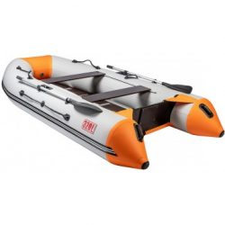Лодка Алтай 320L (оранжевый-белый)