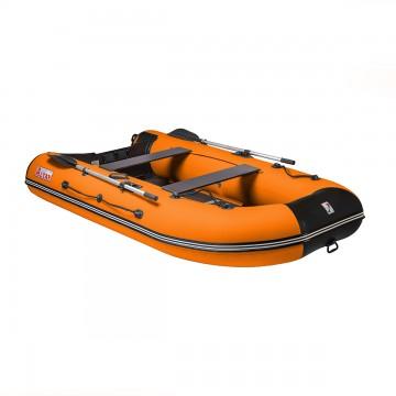 Лодка моторная АЛТАЙ 320L Тонар (оранжевый-черный)
