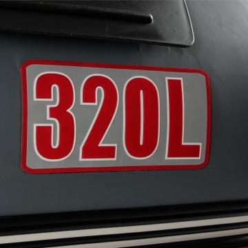 Лодка моторная АЛТАЙ 320L Тонар (серый)