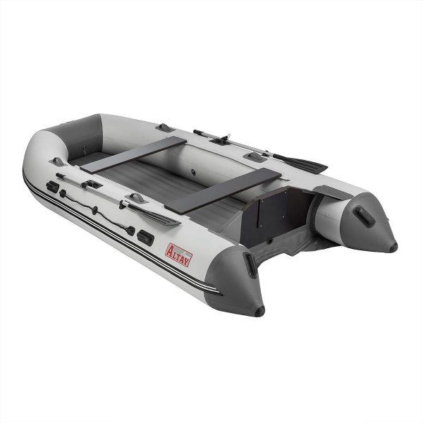 Лодка моторная АЛТАЙ 380 JET Тонар (надувное дно) под водомет