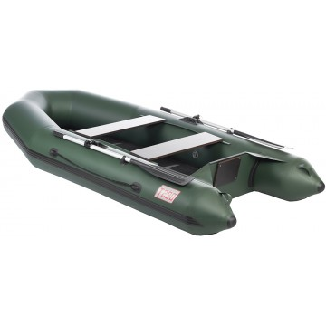 Лодка Капитан Т290 (киль+пол) зеленая