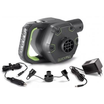 Насос электрический с аккумулятором 220V 12V (автомобильный) (66642) INTEX