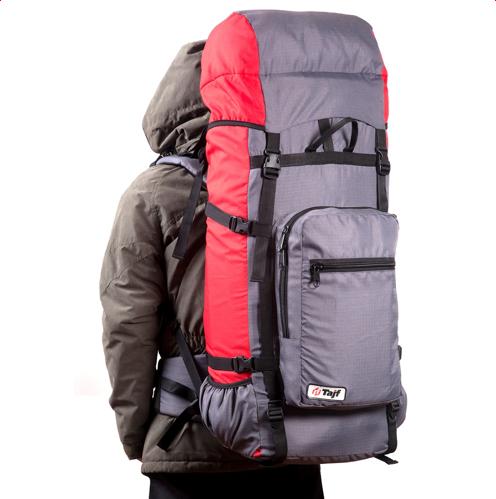 Рюкзак туристический ОПТИМАЛ-60-красный