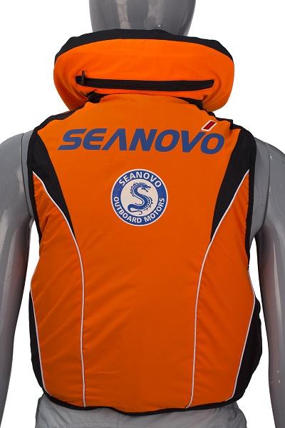 Спасательный жилет SJ11Seanovo /оранжевый/