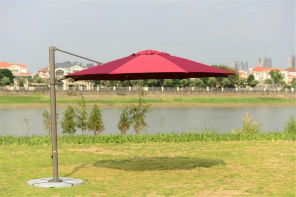 Садовый зонт Garden Way А002-3000 бордовый