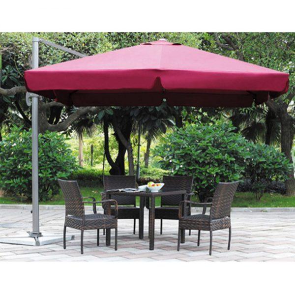 Садовый зонт Garden Way A002-3030 бордовый