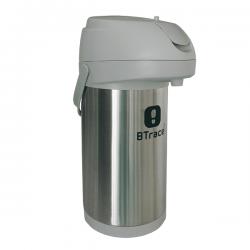 Термос с пневмонасосом BTrace 805-3500 серебристый 3500 мл