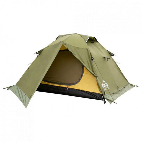 Трехместная палатка PEAK 3 v.2 TRAMP /зеленая/