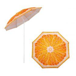 Зонт пляжный d 1,8м с наклоном АПЕЛЬСИН NISUS