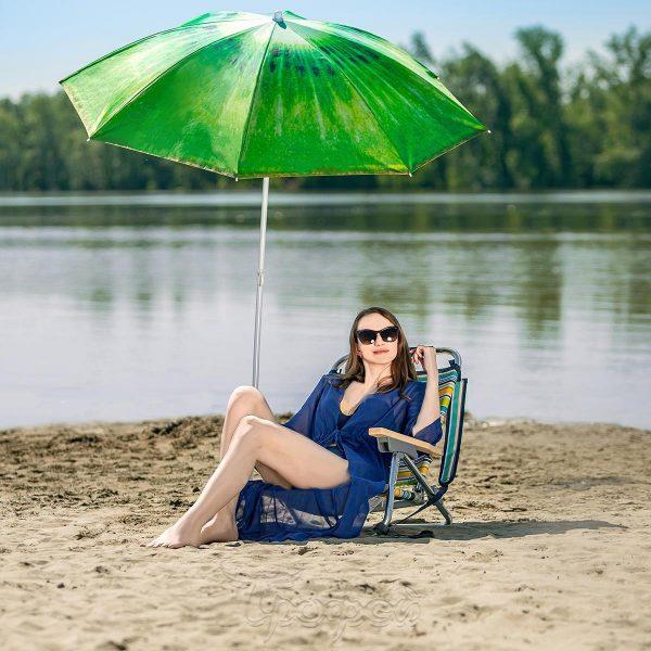 Зонт пляжный d 1,8м с наклоном КИВИ NISUS
