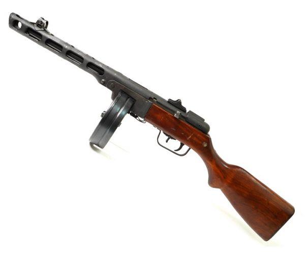 Охолощенный пистолет-пулемет Шпагина ППШ-СХ (ТОЗ) 5,45ИМ