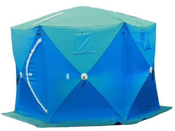 Палатка для зимней рыбалки УЛОВ 2402А