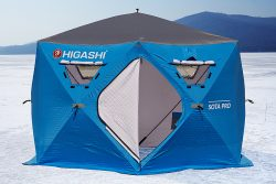 Палатка для зимней рыбалки утепленная HIGASHI Sota Pro DC